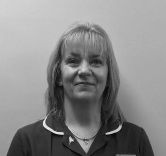 Caryn Dacey, Receptionist at Beech House Veterinary Centre in Warrington