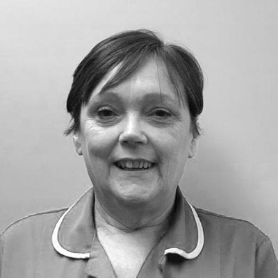 Linda Winstanley, Receptionist at Beech House Veterinary Centre in Warrington