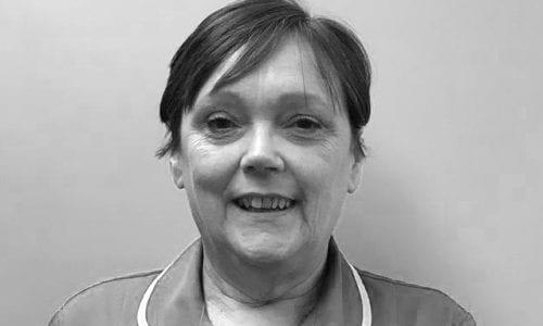 Linda Winstanley, Receptionist at Beech House Veterinary Centre in Warrington